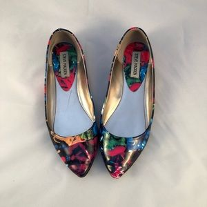Steve Madden Multi-Coloured Flats
